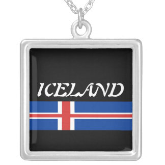 Iceland Personalized Necklace