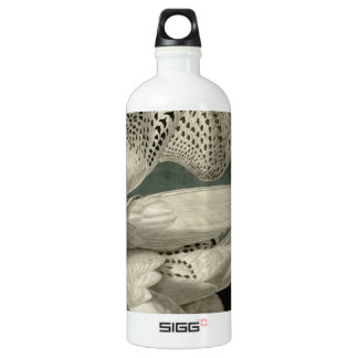 Iceland Or Jer Falcon Aluminum Water Bottle