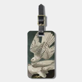 Iceland Or Jer Falcon Tag For Luggage