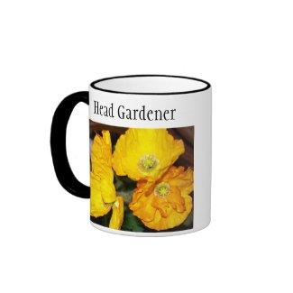 Iceland Poppies Ringer Mug mug