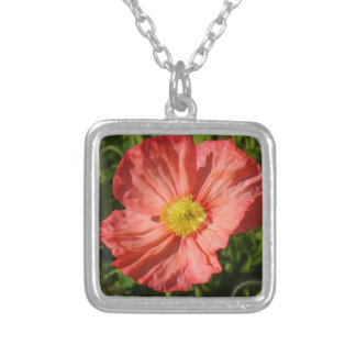 Iceland Poppy Necklace