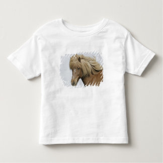 Iceland. Portrait of an Icelandic horse. Toddler T-shirt