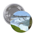 Iceland Rainbows Pinback Button