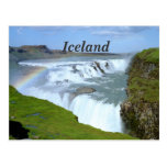 Iceland Rainbows Postcard