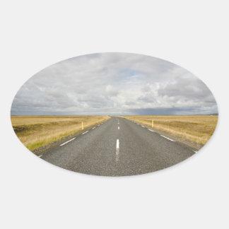 Iceland road sticker