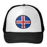 Iceland Roundel quality Flag Trucker Hats