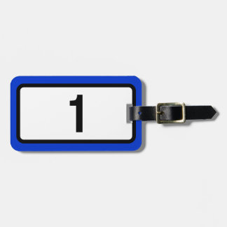 Iceland Route 1 Ring Road Luggage Tag