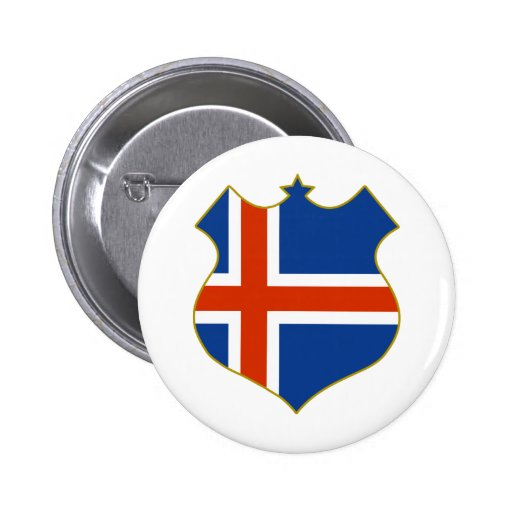 Iceland-shield.png 2 Inch Round Button