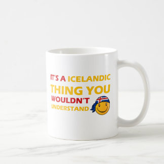 Iceland Smiley Designs Coffee Mug