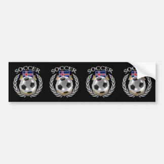 Iceland Soccer 2016 Fan Gear Bumper Sticker
