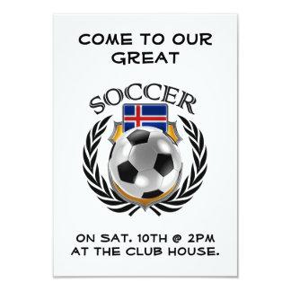 Iceland Soccer 2016 Fan Gear Card