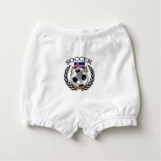 Iceland Soccer 2016 Fan Gear Diaper Cover
