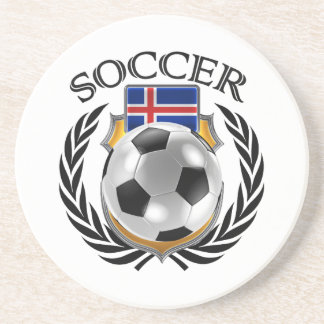 Iceland Soccer 2016 Fan Gear Drink Coaster