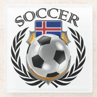 Iceland Soccer 2016 Fan Gear Glass Coaster