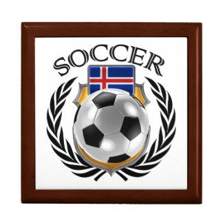 Iceland Soccer 2016 Fan Gear Keepsake Box