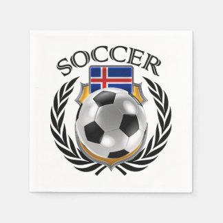 Iceland Soccer 2016 Fan Gear Paper Napkin
