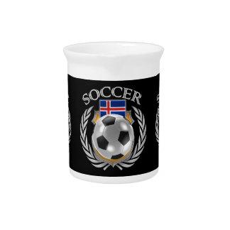 Iceland Soccer 2016 Fan Gear Pitcher