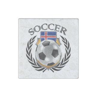 Iceland Soccer 2016 Fan Gear Stone Magnet
