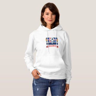 Iceland Soccer Jersey 2018 - Iceland Football Hoodie