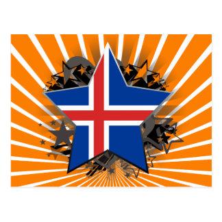 Iceland Star Postcard