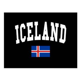 Iceland Style Postcard