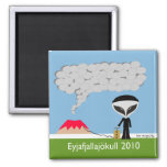 Iceland Volcano 2010 Magnet