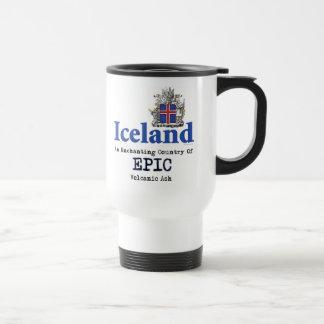 Iceland Volcano Travel Mug