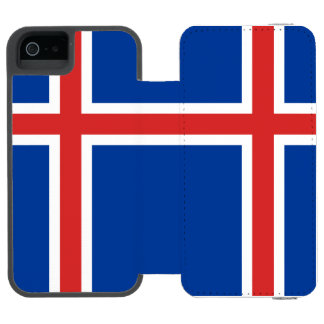 Iceland Wallet Case For iPhone SE/5/5s