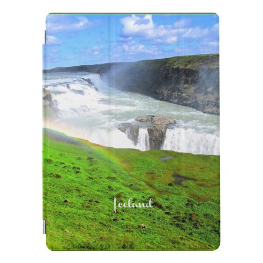Iceland waterfall landscape scenic photograph iPad pro cover