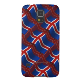 Iceland Waving Flag Case For Galaxy S5