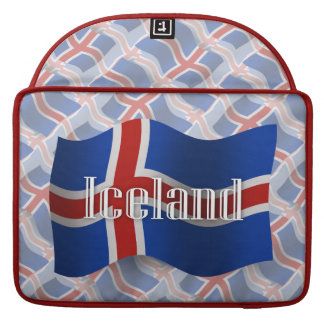Iceland Waving Flag MacBook Pro Sleeve