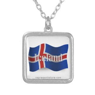 Iceland Waving Flag Jewelry