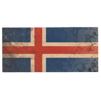 Iceland Wood Flash Drive