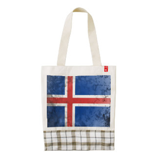 Iceland Zazzle HEART Tote Bag