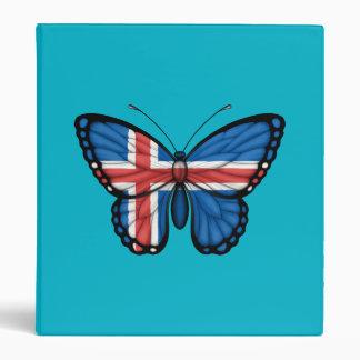 Icelandic Butterfly Flag Binders