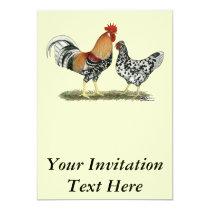 Icelandic Chickens Invitation