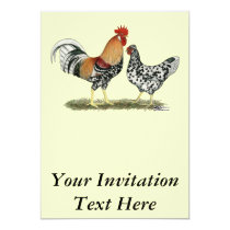 Icelandic Chickens Invitation