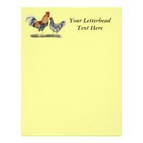 Icelandic Chickens Letterhead