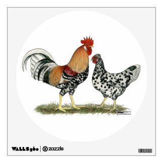Icelandic Chickens Wall Stickers