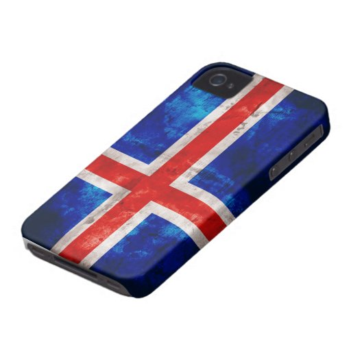Icelandic Flag iPhone 4 Cover