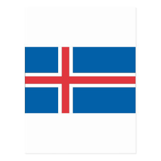 Icelandic Flag Postcard