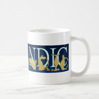 Icelandic flexible alphabet pony coffee mug
