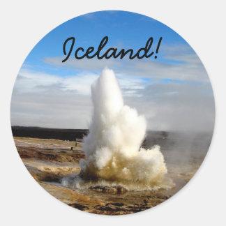 Icelandic Geyser Stickers