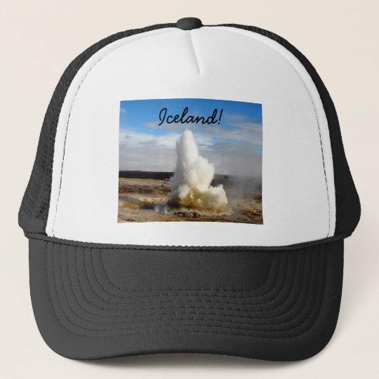 Icelandic Geyser Trucker Hat