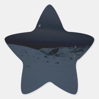 Icelandic Glacier Star Sticker