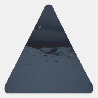 Icelandic Glacier Triangle Sticker