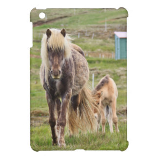 Icelandic Horse and Foal Cover For The iPad Mini