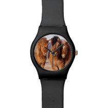 Icelandic Horse during winter Wristwatch