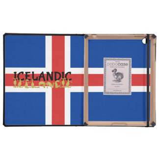 Icelandic Horse Flag Covers For iPad