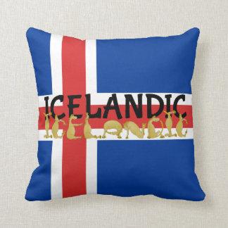 Icelandic Horse | Flag of Iceland Pillow